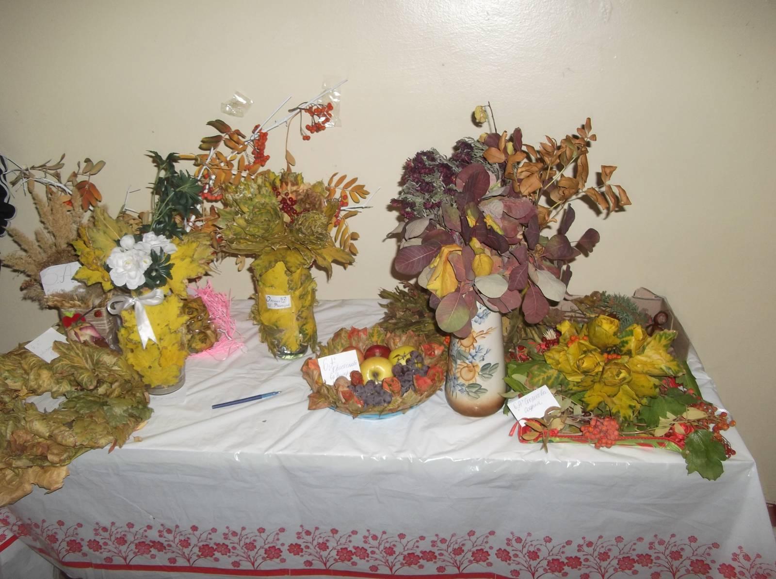 Поделки для осеннего бала фото
